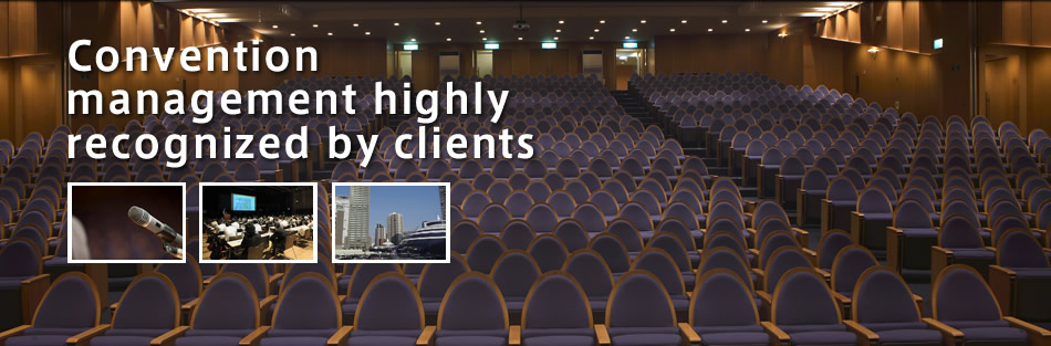 Convention management highly recognized by clients